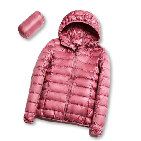 Women Hooded Down Jacket