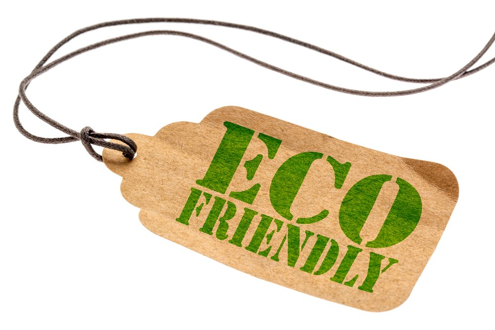 Price tag reading eco-friendly