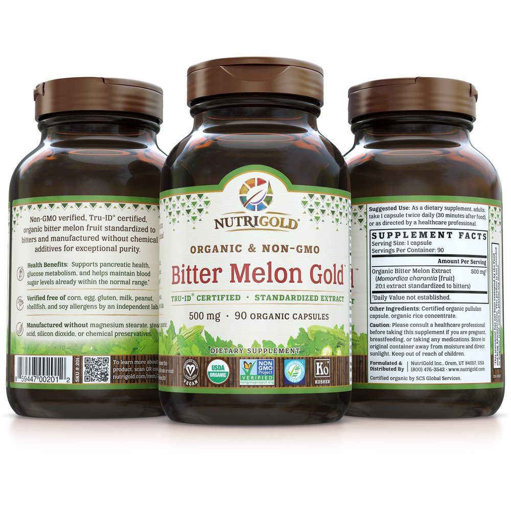 Bitter Melon Gold by NutriGold