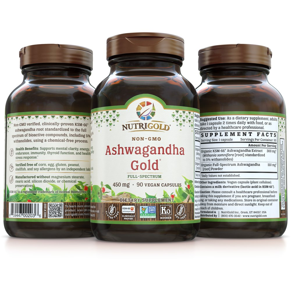 Ashwagandha Gold by NutriGold
