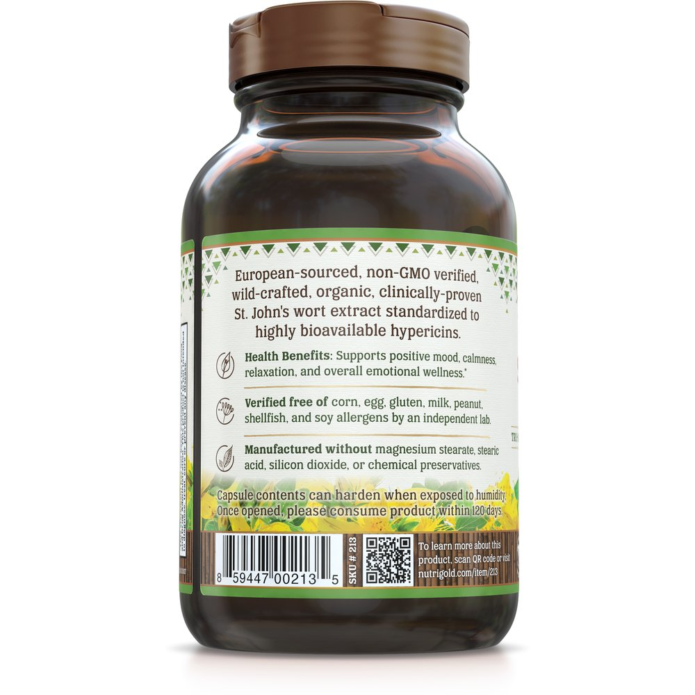St. John's Wort Gold by NutriGold