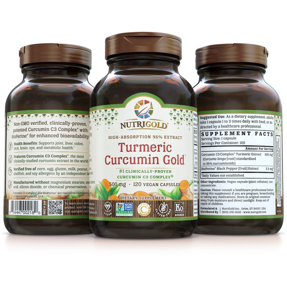 Turmeric Curcumin Gold by NutriGold