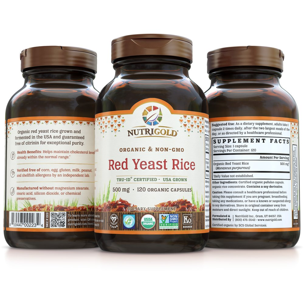 Red Yeast Rice Gold by NutriGold