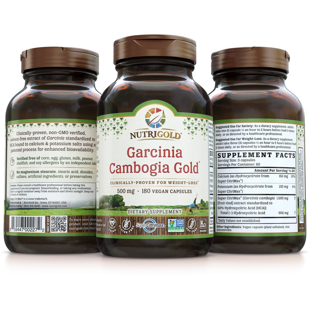 Garcinia Cambogia Gold by NutriGold®