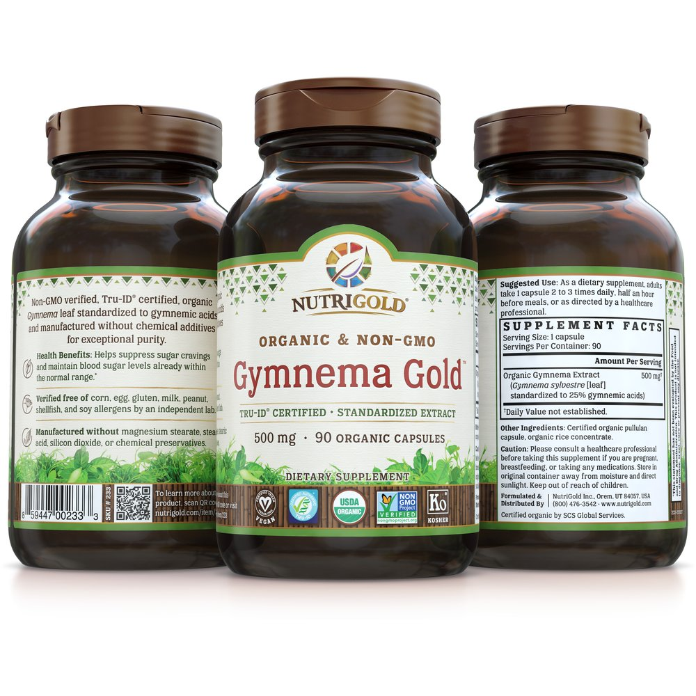 Gymnema Gold by NutriGold