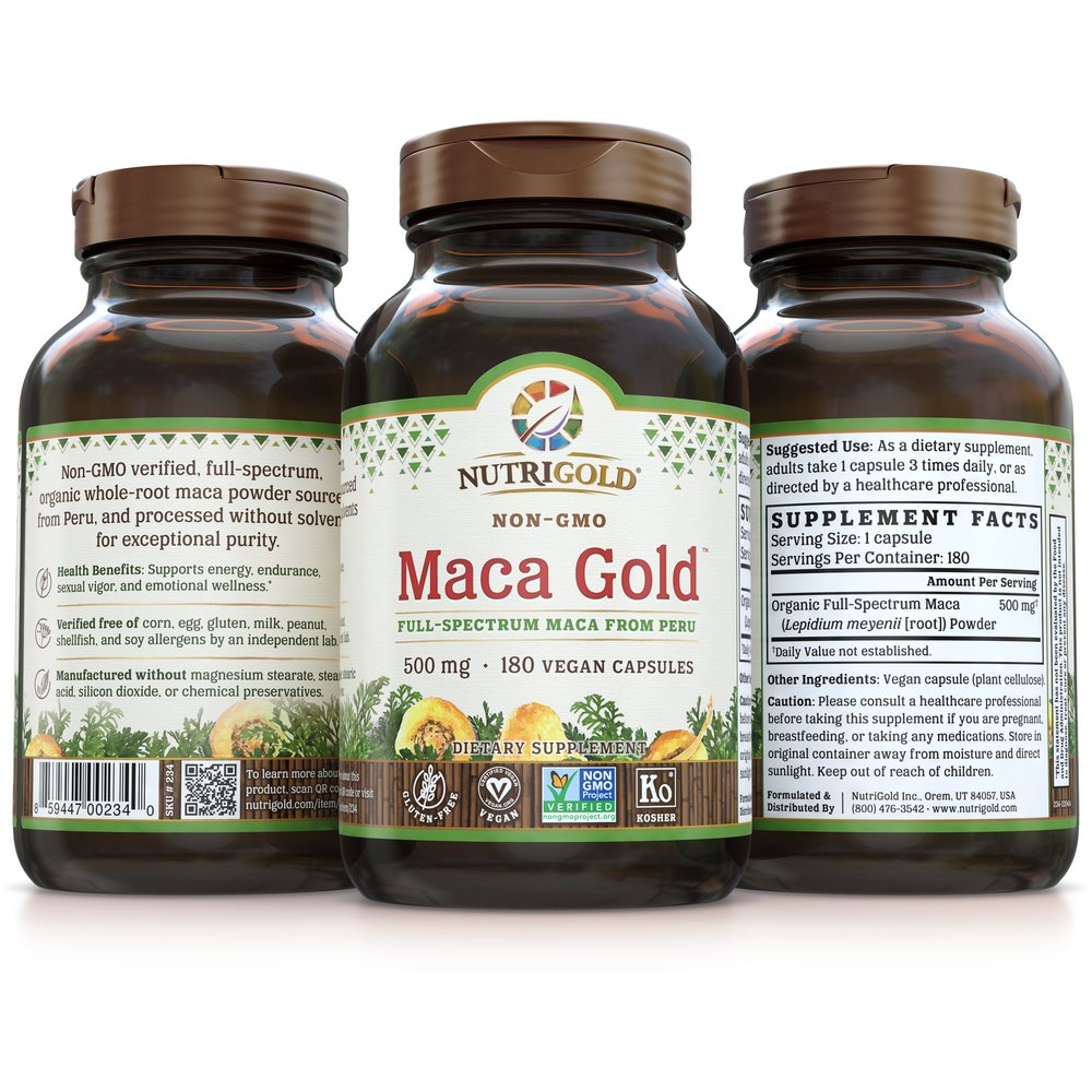 Maca Gold by NutriGold
