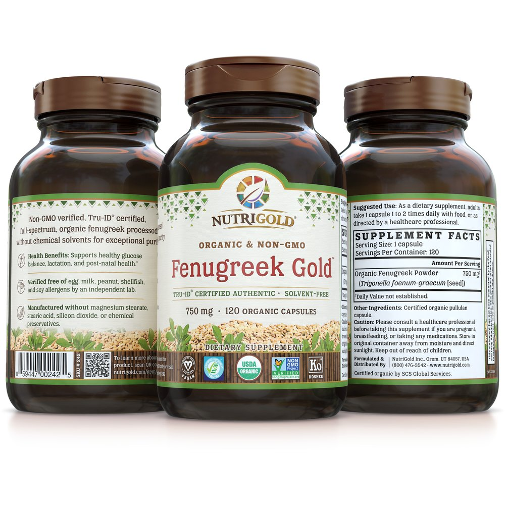 Fenugreek Gold by NutriGold®
