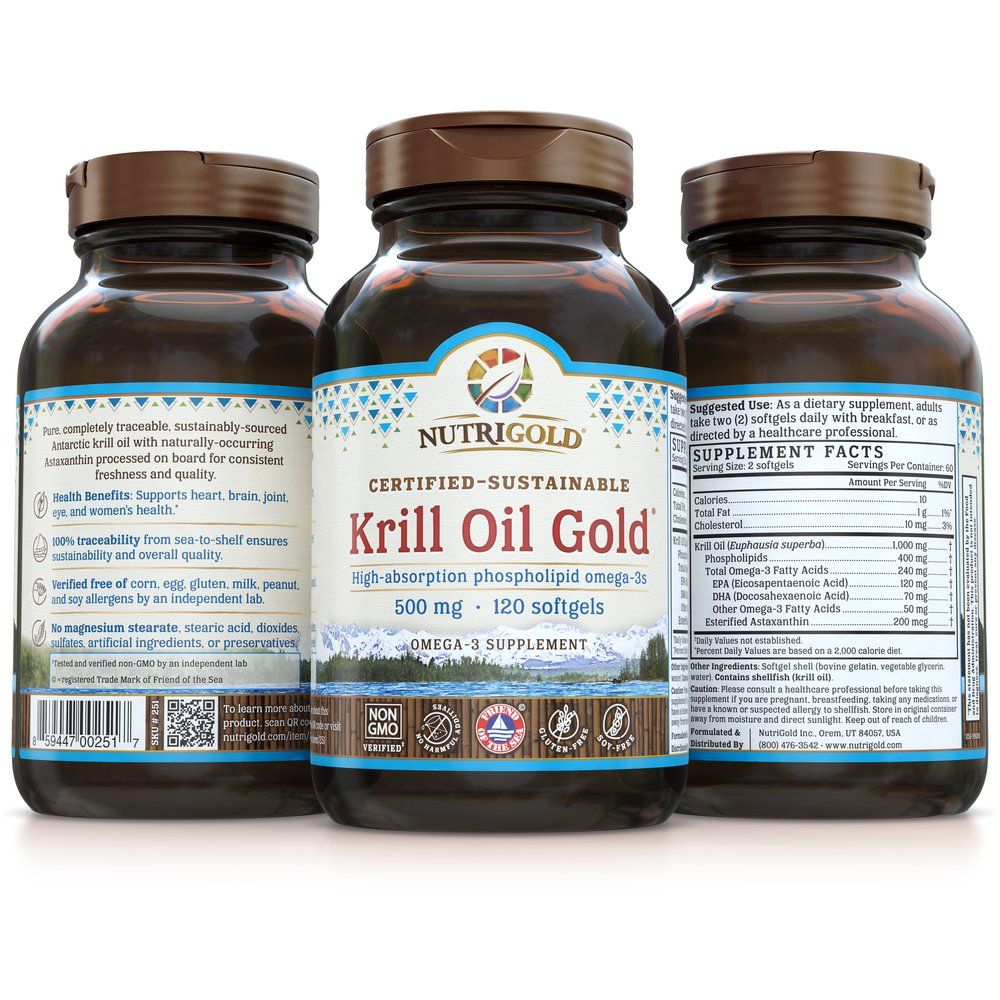 Krill Oil Gold by NutriGold
