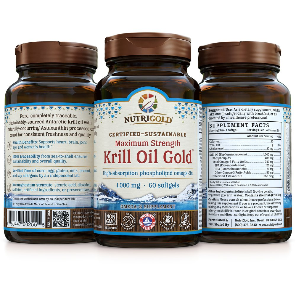 Krill Oil Gold Max by NutriGold®