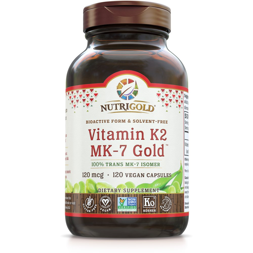 Vitamin K2 MK-7 Gold by NutriGold