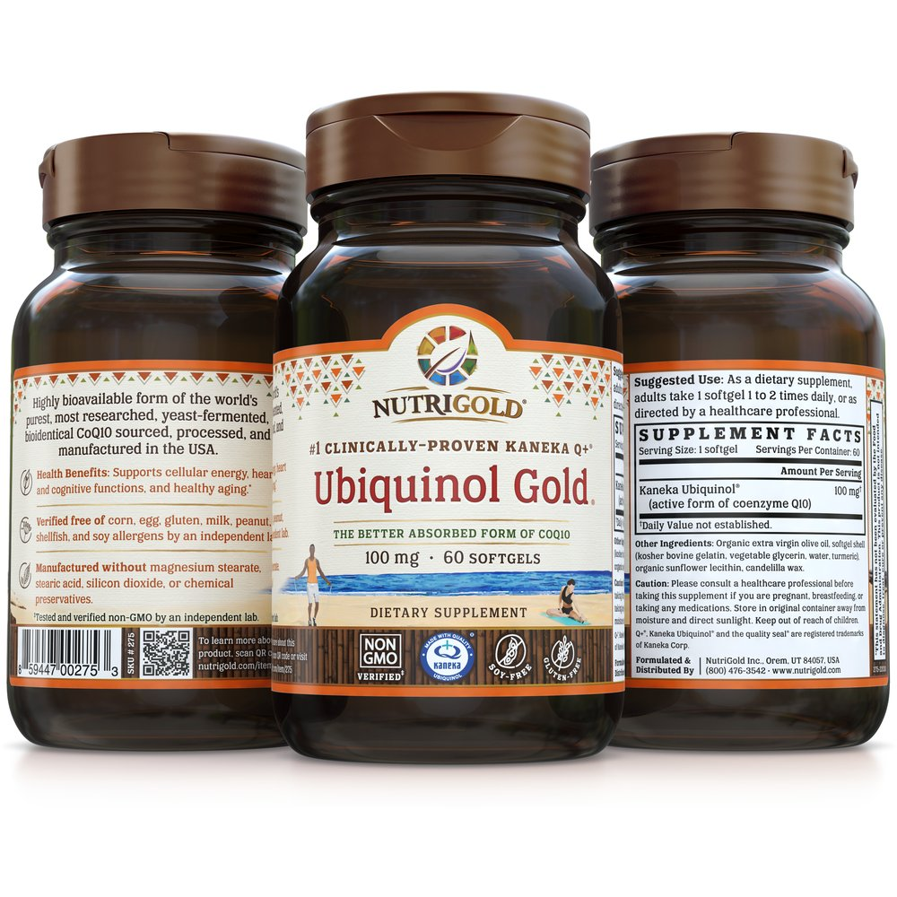 Ubiquinol Gold by NutriGold
