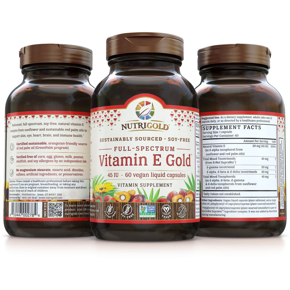 Vitamin E Gold by NutriGold