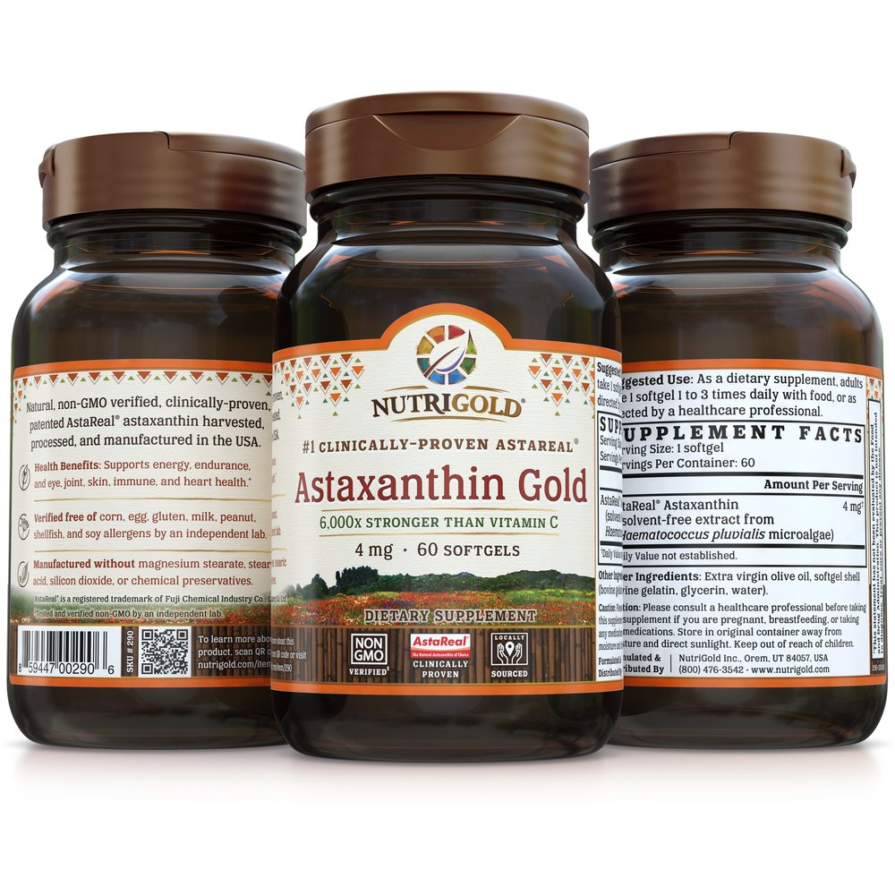 Astaxanthin Gold by NutriGold