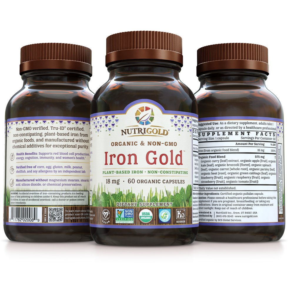 Iron Gold by NutriGold®