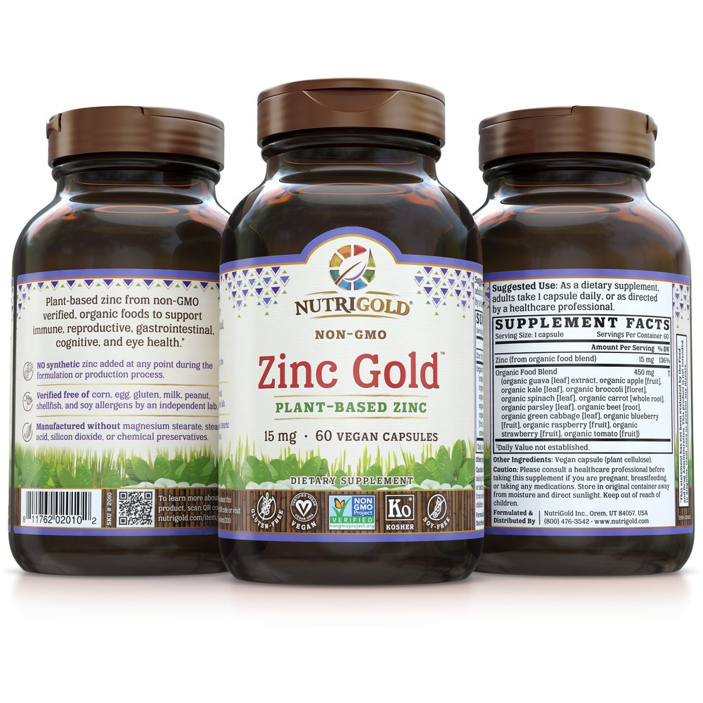 Zinc Gold by NutriGold®