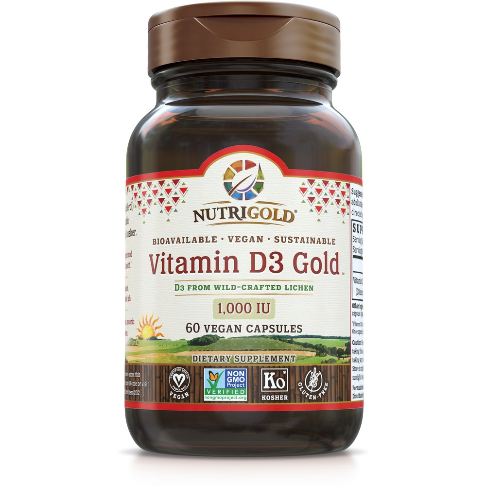 Vitamin D3 Gold 1000 IU by NutriGold