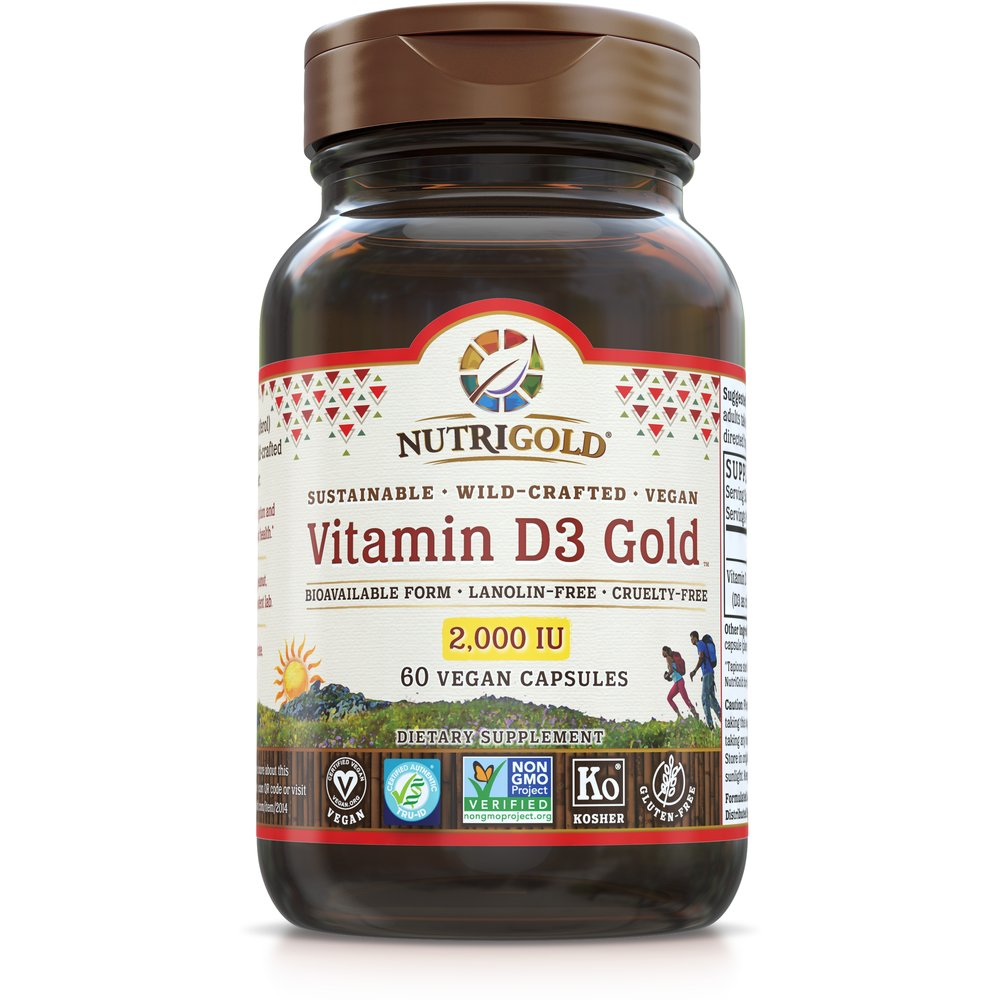 Vitamin D3 Gold 2000 IU by NutriGold