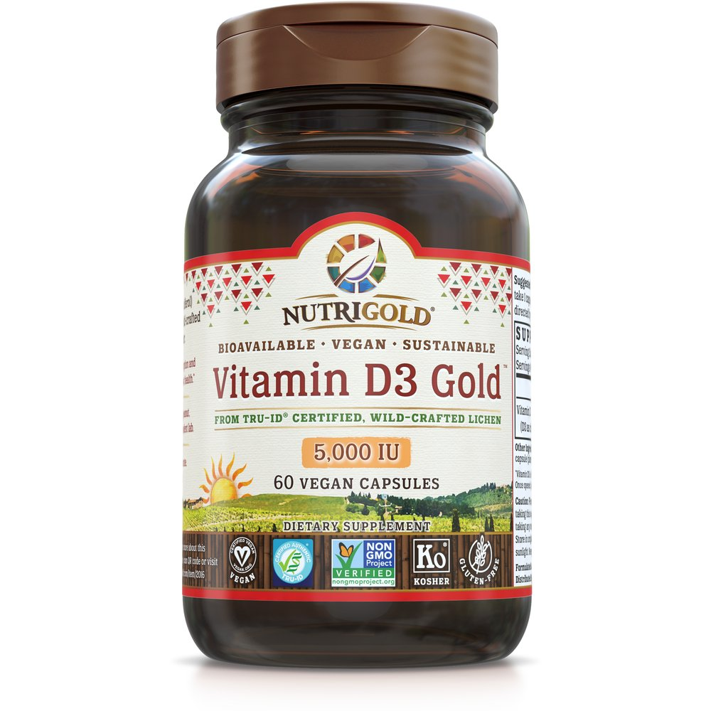 Vitamin D3 Gold 5000 IU by NutriGold