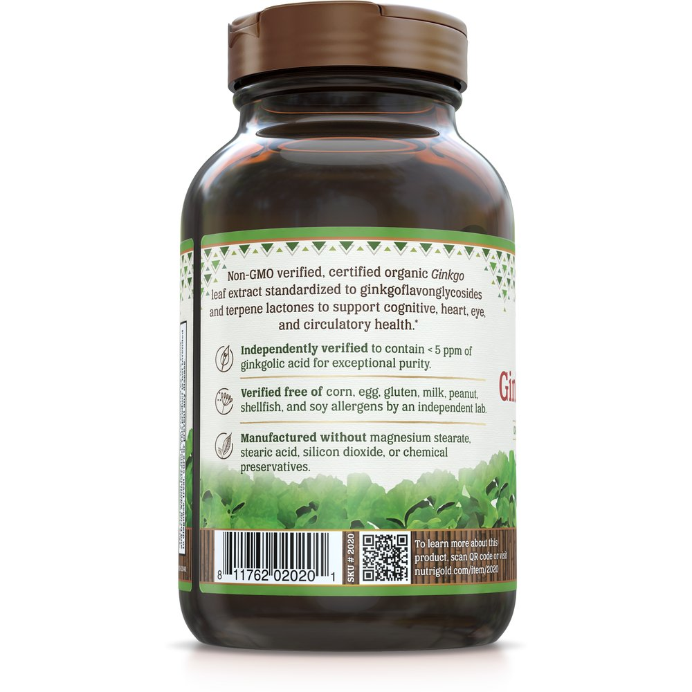 Ginkgo Biloba Gold by NutriGold