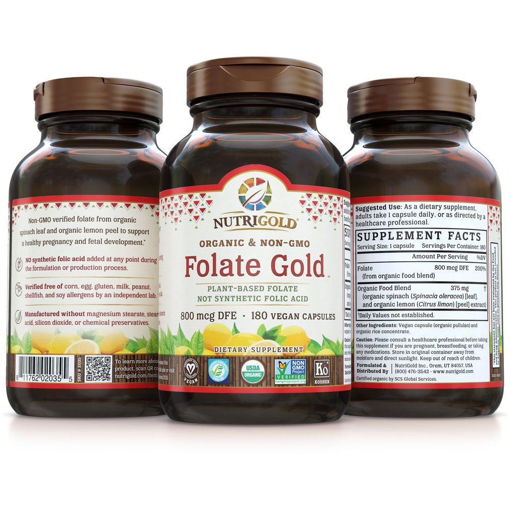 Folate Gold by NutriGold