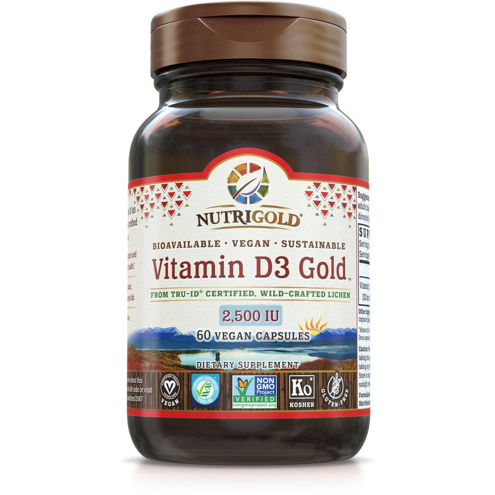 Vitamin D3 Gold (Vegan) by NutriGold®