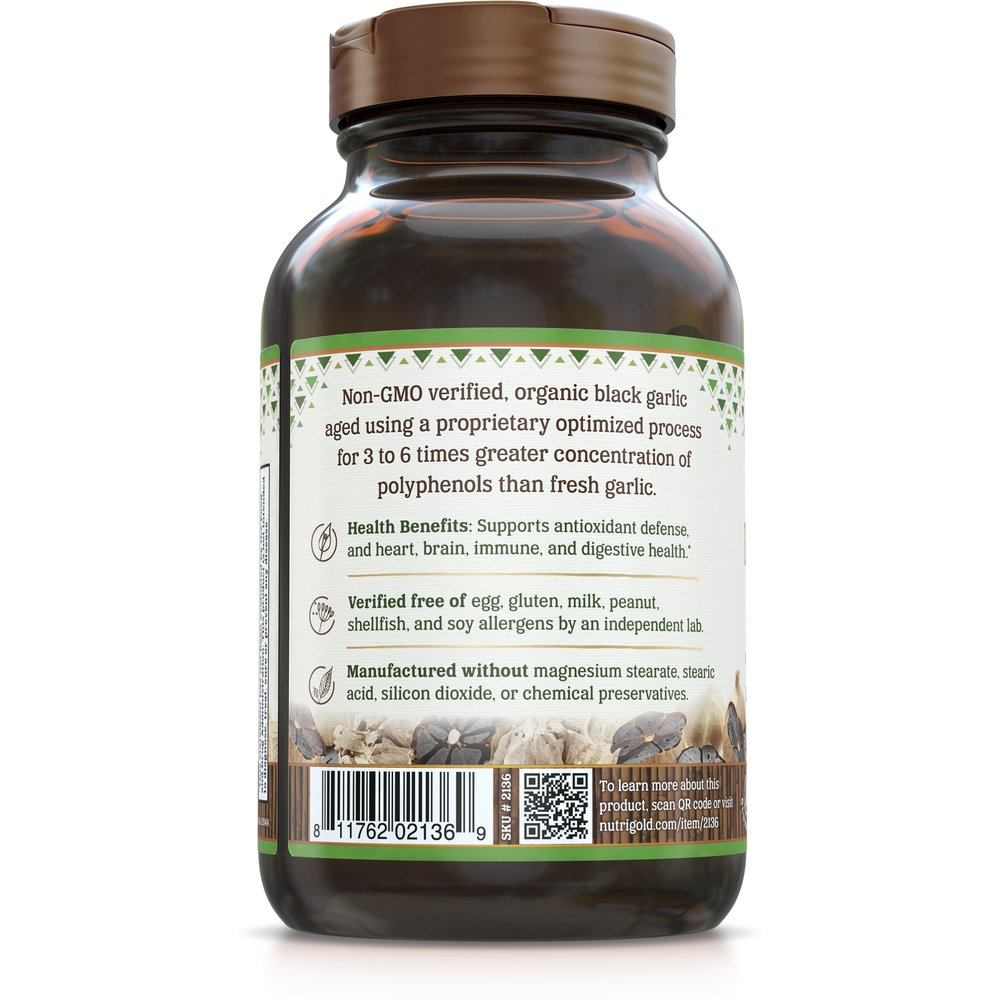 Black Garlic Gold by NutriGold