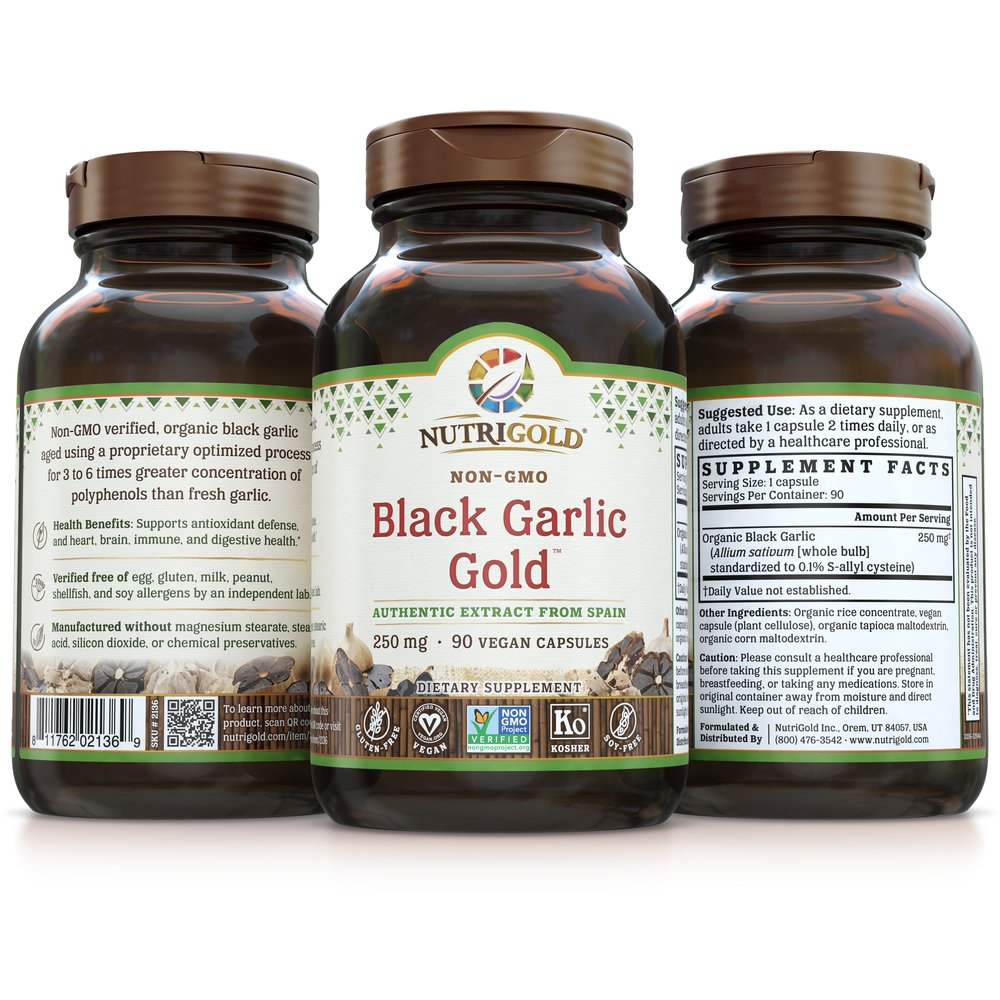 Black Garlic Gold by NutriGold®
