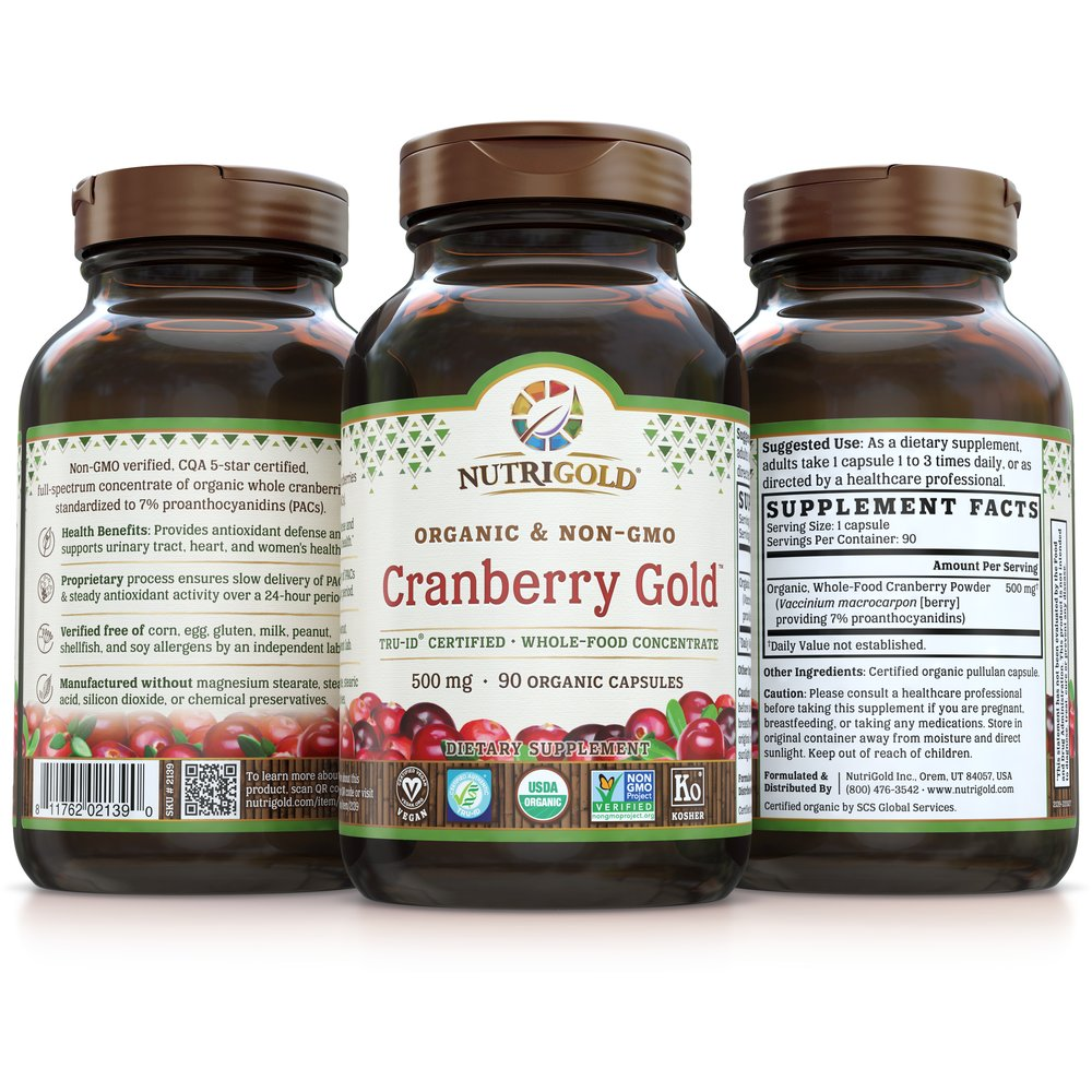 Cranberry Gold by NutriGold®