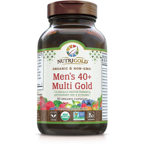 Men's 40+ Multi Gold