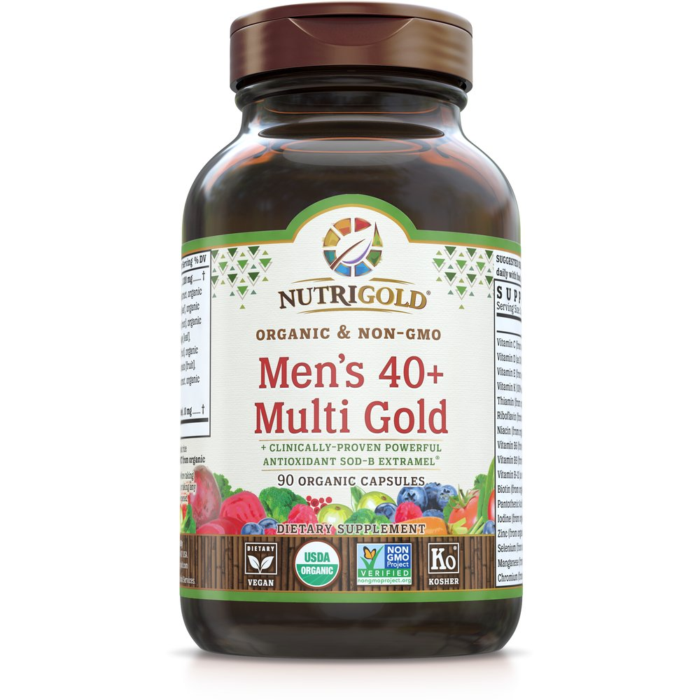 Men's 40+ Multi Gold by NutriGold