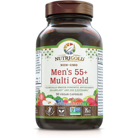 Men's 55+ Multi Gold
