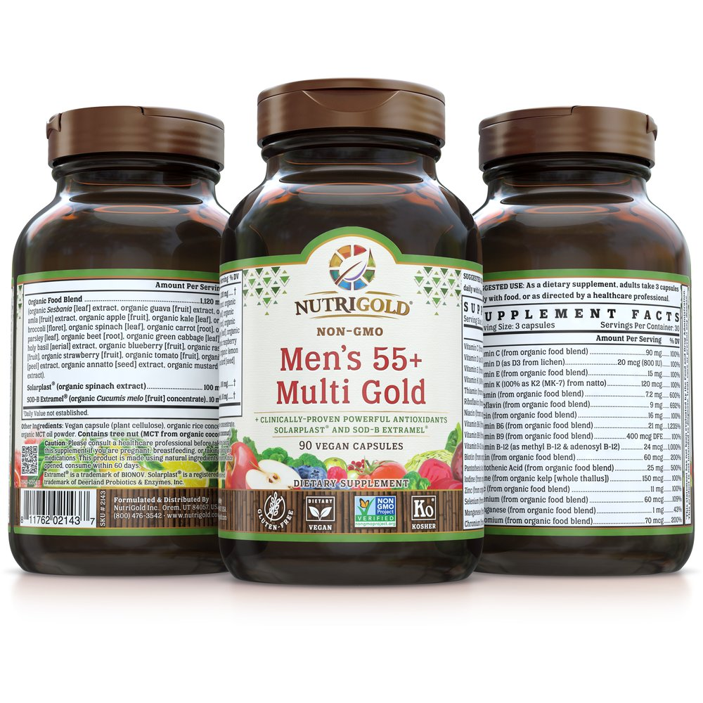 Men's 55+ Multi Gold by NutriGold