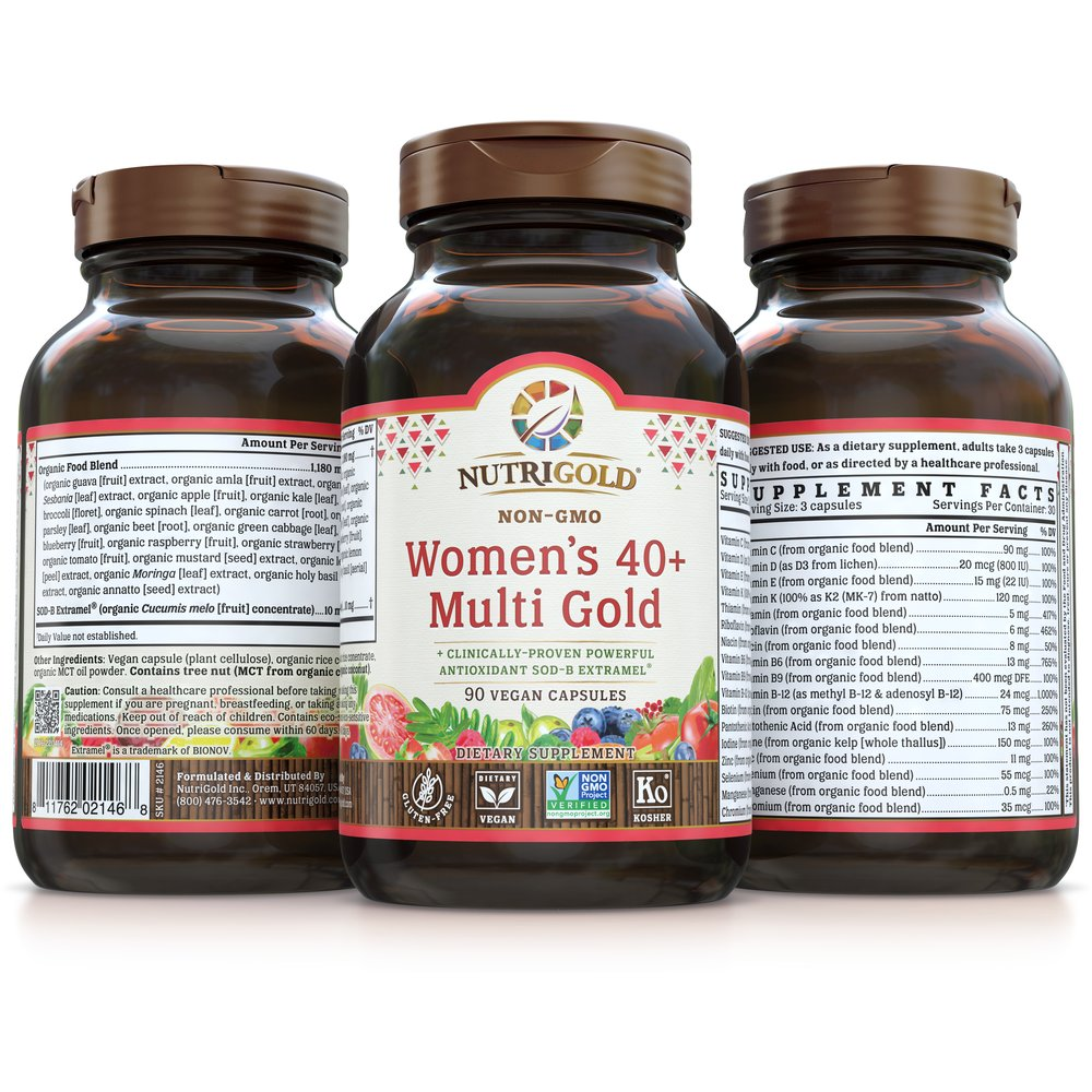Women's 40+ Multi Gold by NutriGold®