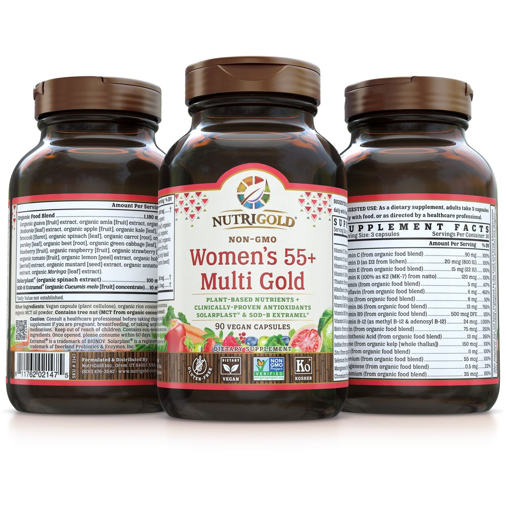 Women's 55+ Multi Gold by NutriGold