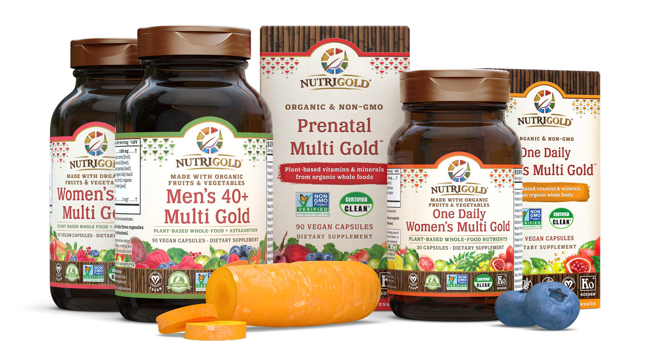 Organic, Non-GMO, and Whole-Food Dietary Supplements - NutriGold