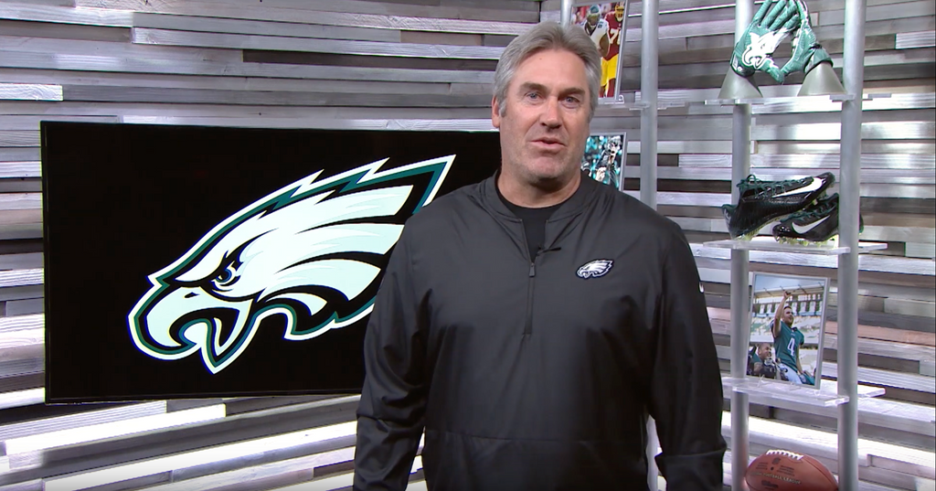 Doug Pederson and the Philadelphia Eagles Support Team#17Strong!