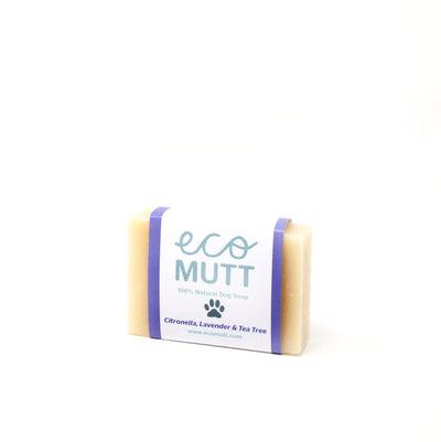 ECO MUTT DOG SHAMPOO BAR Citronella, Lavender & Tea Tree