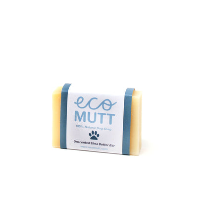 ECO MUTT Unscented DOG SHAMPOO BAR Perfect for Puppies