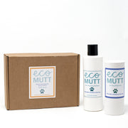Eco Mutt Natural handmade shampoo duo gift box - Citronella Lavender & Tea Tree