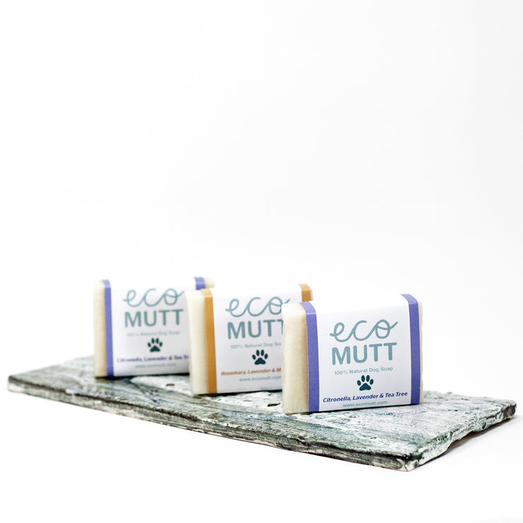 ECO MUTT DOG SHAMPOO BARS
