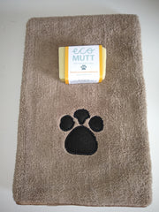 Eco Mutt Dog Soap Bar & Pet Towel - Rosemary, Lavender & Mandarin