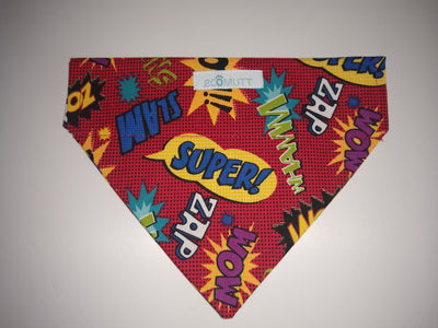 Red Superhero Bandana