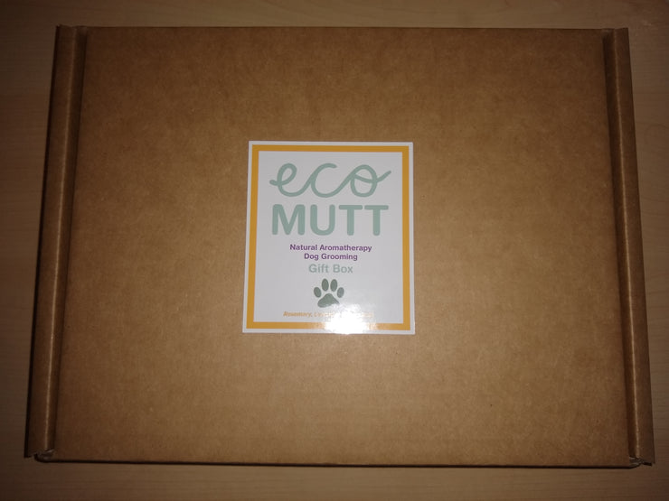 Eco Mutt Dog Gift Set Happy Birthday. Birthday Box