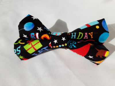 Eco Mutt Happy Birthday Bow Tie for your dog
