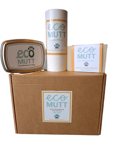 Eco Mutt Basics Dog Gift Box : Rosemary, Lavender & Mandarin
