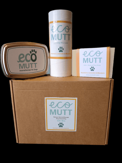 Eco Mutt Basics Dog Gift Box : Citronella, Lavender & Tea Tree
