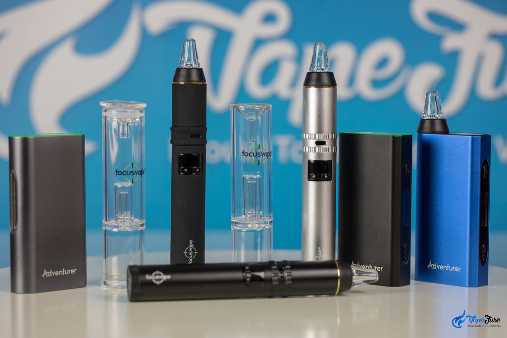 FocusVape Pro Portable Vaporizer with other iFocus Vaporizers