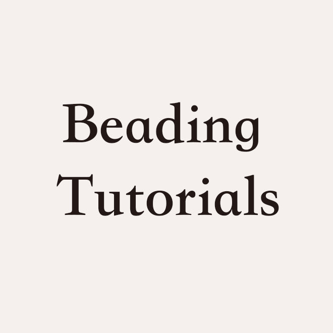 Beading Video Tutorials