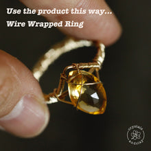 Load image into Gallery viewer, 20-30 gauge (0.25--0.8mm) Half Hard 14k Gold Filled Wire