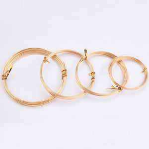 20-30 gauge (0.25--0.8mm) Half Hard 14k Gold Filled Wire